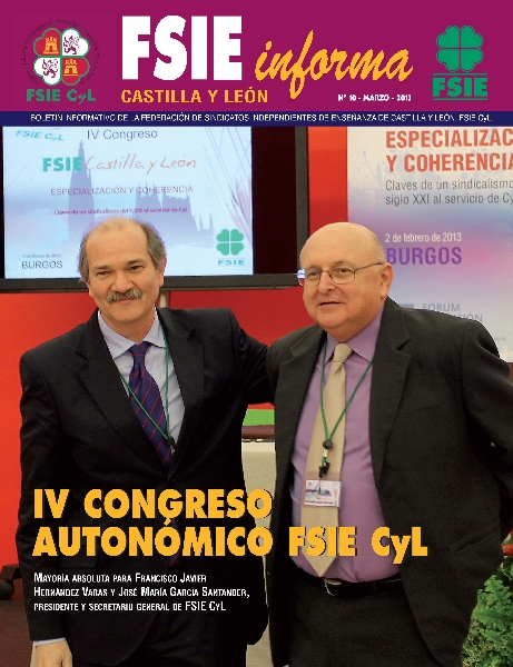 FSIE-CyL-n 10 Portada